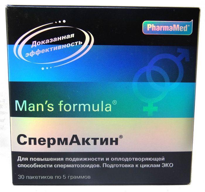 Мен с формула спермактин
