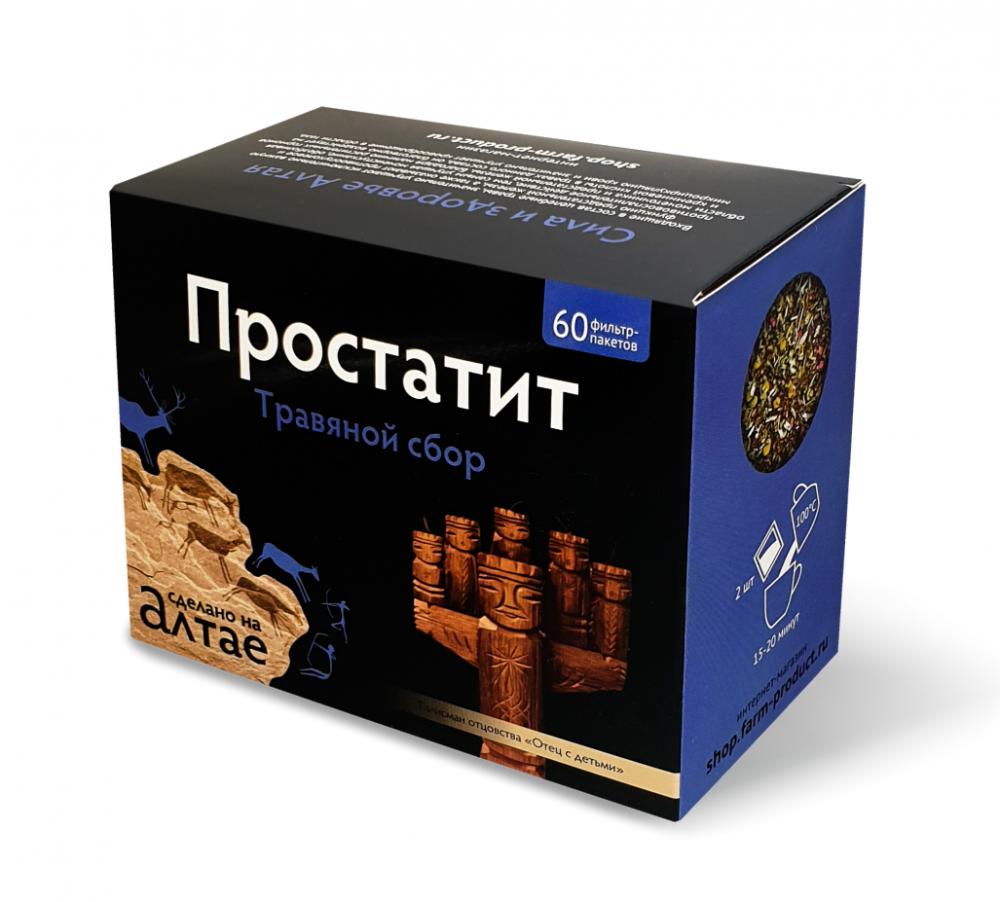 Купить Сбор травяной Простатит Фарм-Продукт 60 пакетиков в Москве