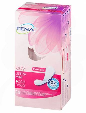 Купить Прокладки урологические TENA Lady Ultra Mini 28шт в Москве
